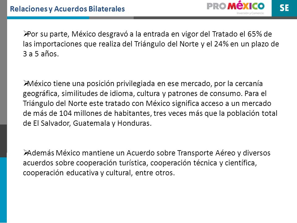 5. Oportunidades de Comercio de El Salvador en México