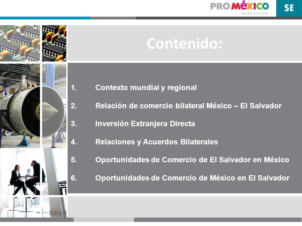 1.Contexto mundial y regional