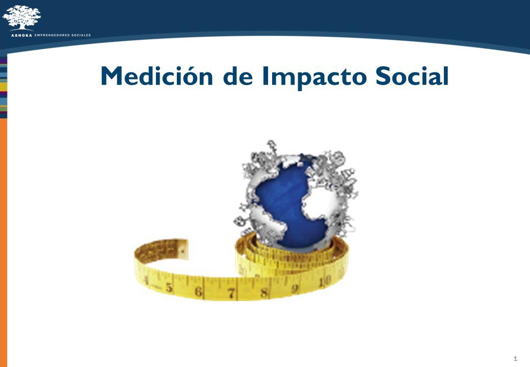 1 Medición de Impacto Social