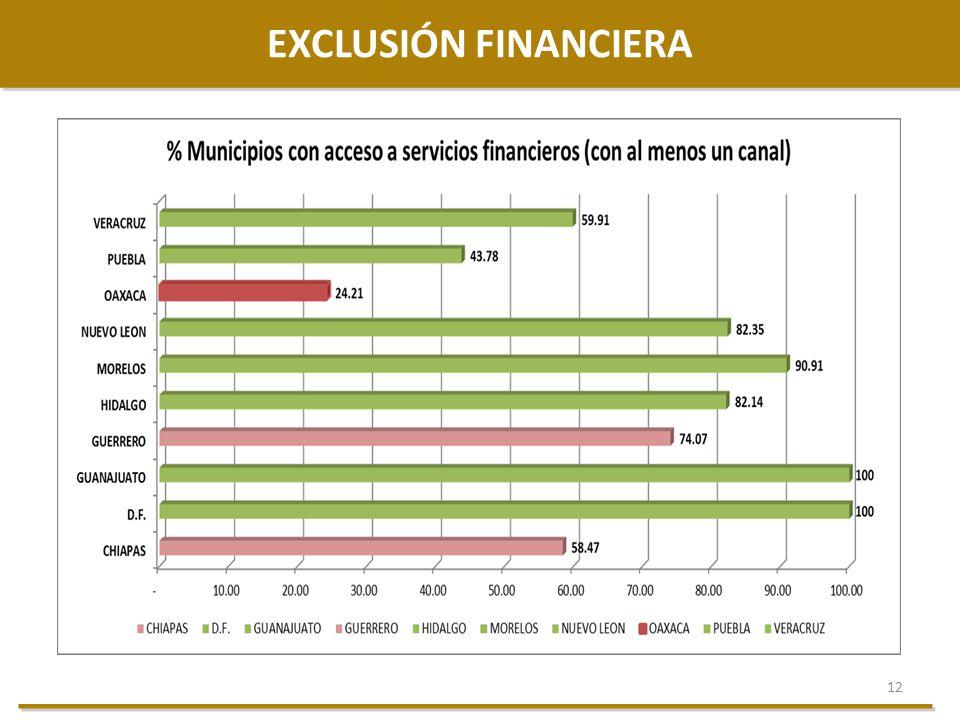 12 EXCLUSIÓN FINANCIERA