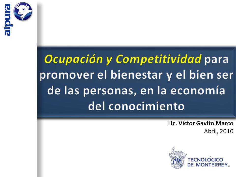 1)La ocupación y el empleo, instrumento para la satisfacción de las aspiraciones del hombre.