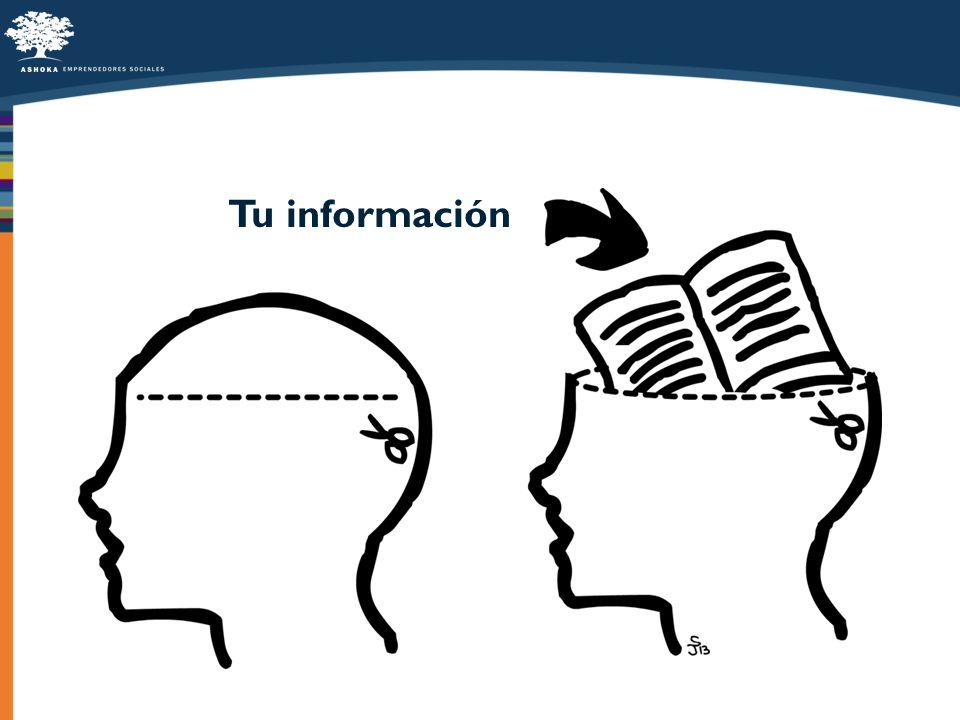 Tu información