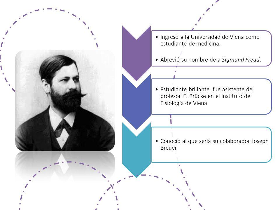 Ingresó a la Universidad de Viena como estudiante de medicina.