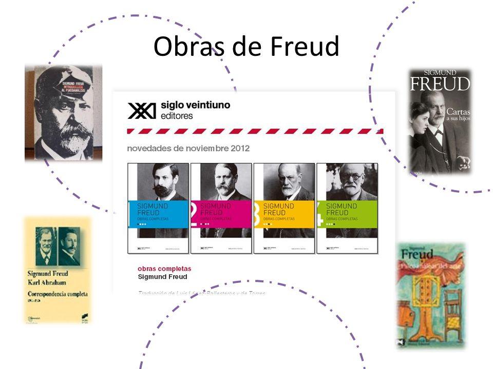 Obras de Freud