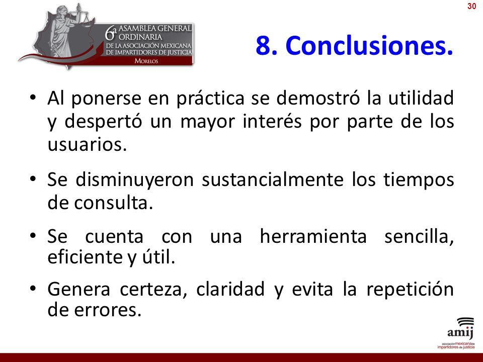 8.Conclusiones.