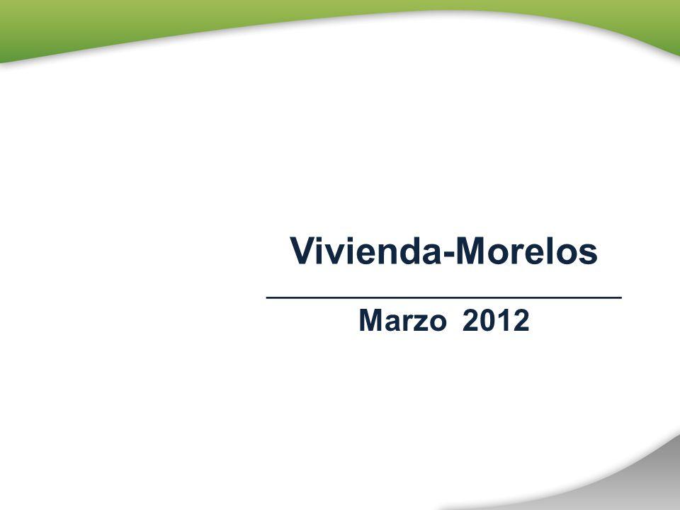 Vivienda-Morelos ____________________________ Marzo 2012