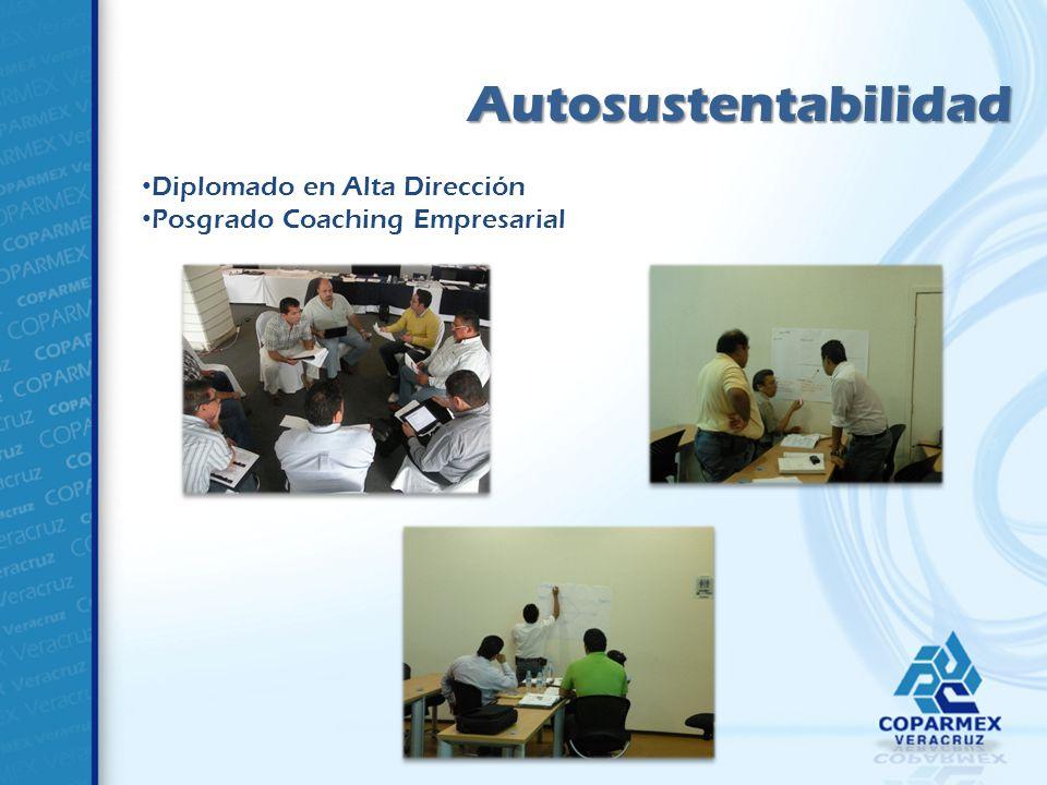 Autosustentabilidad Diplomado en Alta Dirección Posgrado Coaching Empresarial