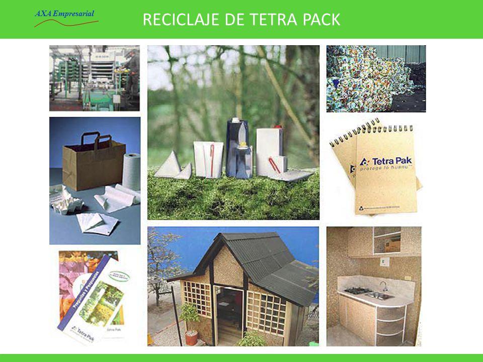 RECICLAJE DE TETRA PACK AXA Empresarial