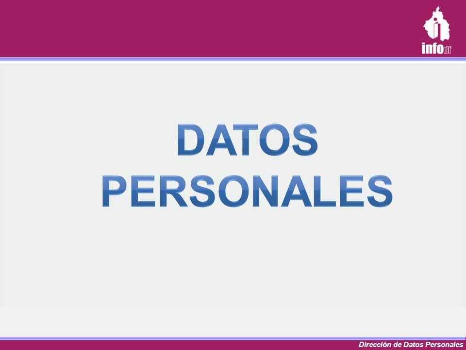Dirección de Datos Personales