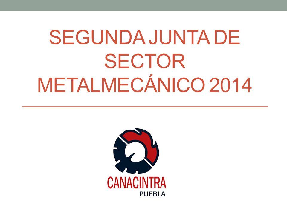 SEGUNDA JUNTA DE SECTOR METALMECÁNICO 2014