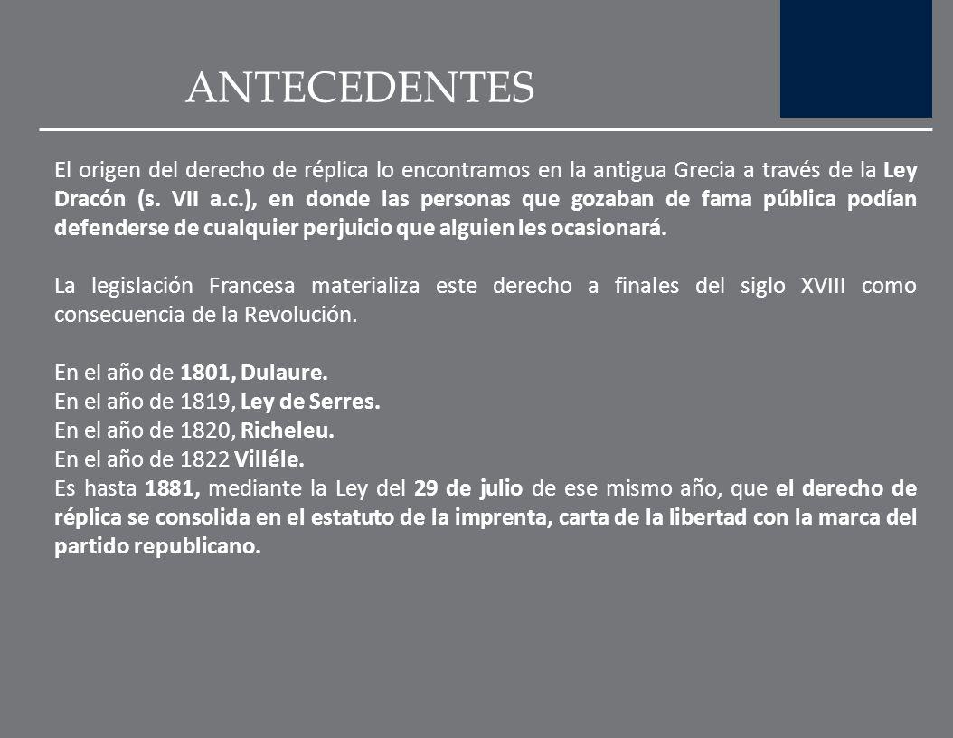DERECHO DE RÉPLICA Y AUTORREGULACIÓN