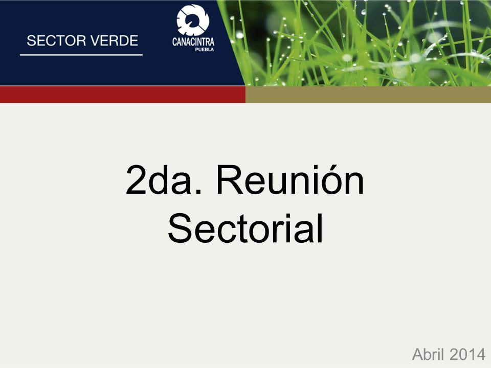 2da. Reunión Sectorial Abril 2014