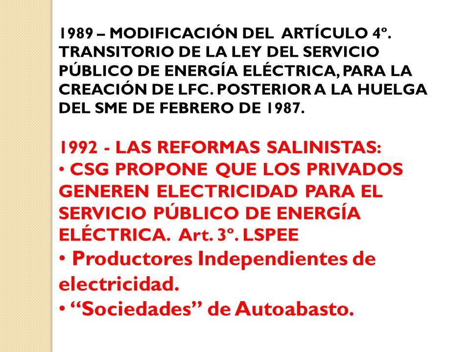 1989 – MODIFICACIÓN DEL ARTÍCULO 4º.