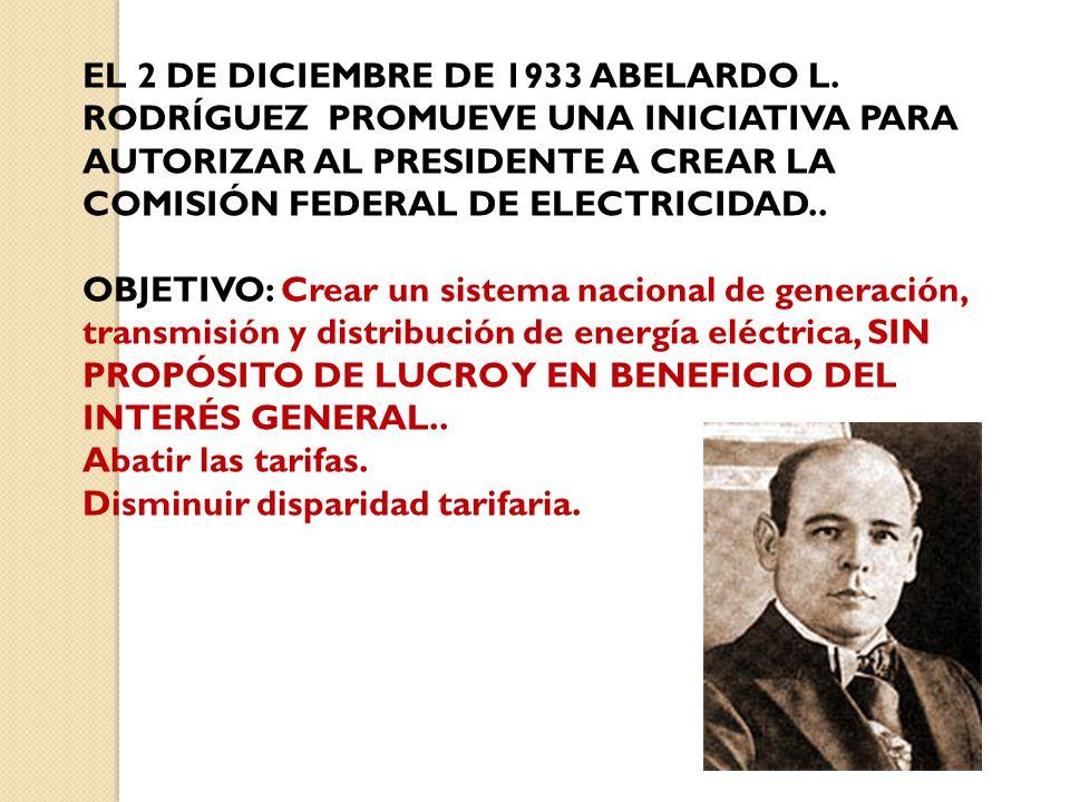 EL 2 DE DICIEMBRE DE 1933 ABELARDO L.