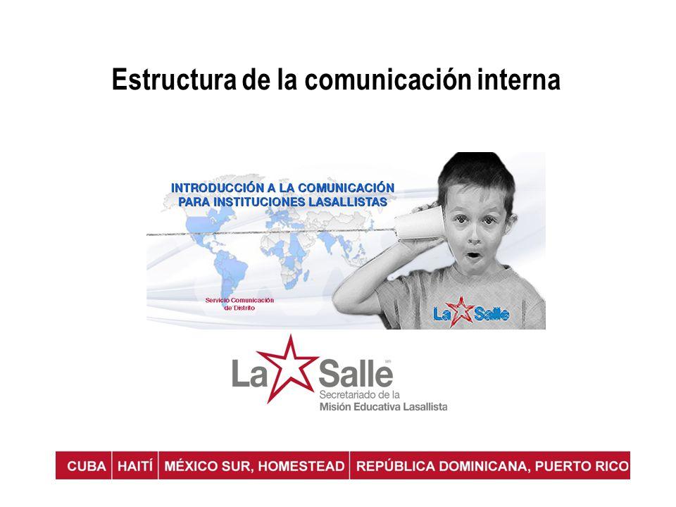 Estructura de la comunicación interna
