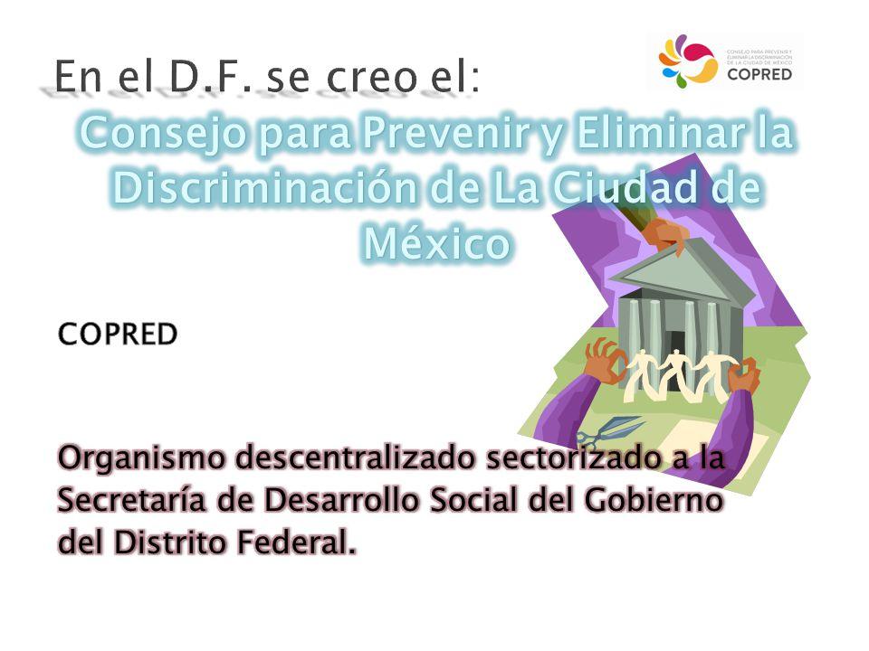 jj Atender asesorar y acompañar a las victimas por discriminación.