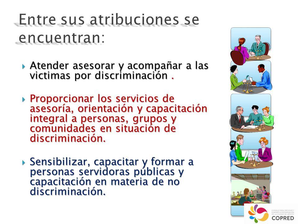 ESTA PROHIBIDA CUALQUIER FORMA DE DISCRIMINACIÓN : Ley Para Prevenir Y Eliminar La Discriminación En El Distrito Federal 2.