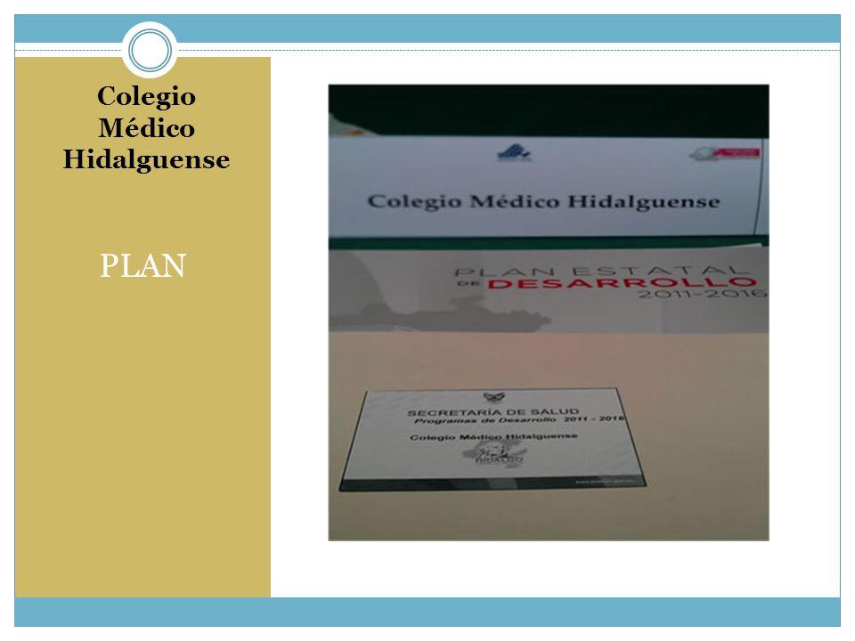 Colegio Médico Hidalguense PLAN