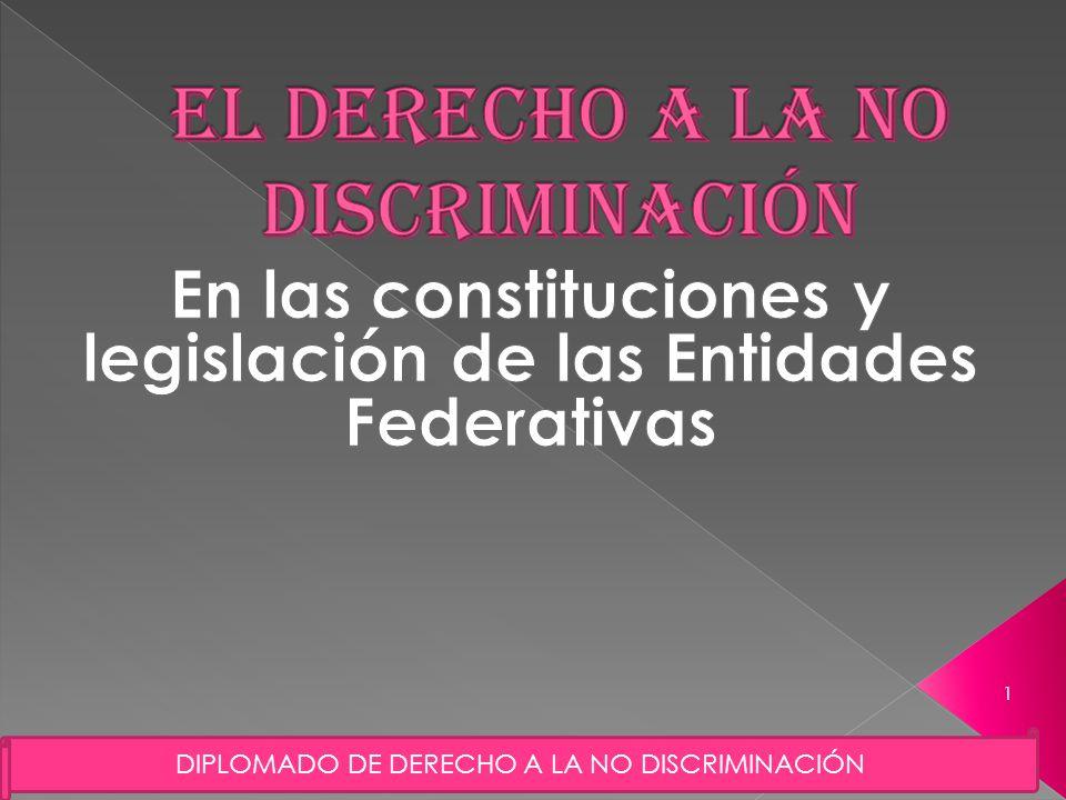 DIPLOMADO DE DERECHO A LA NO DISCRIMINACIÓN 1