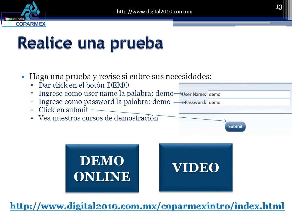 http://www.digital2010.com.mx Haga una prueba y revise si cubre sus necesidades: Dar click en el botón DEMO Ingrese como user name la palabra: demo In
