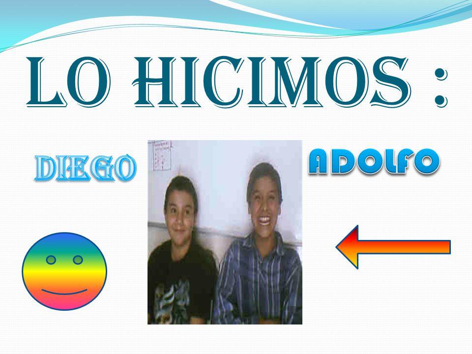 LO HICIMOS :