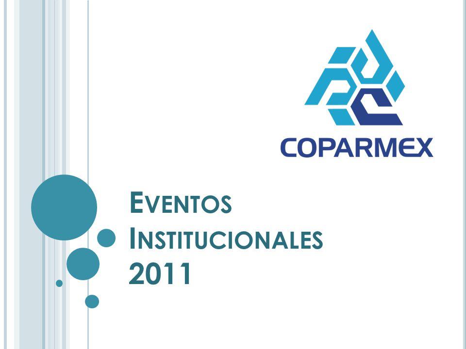 E VENTOS I NSTITUCIONALES 2011