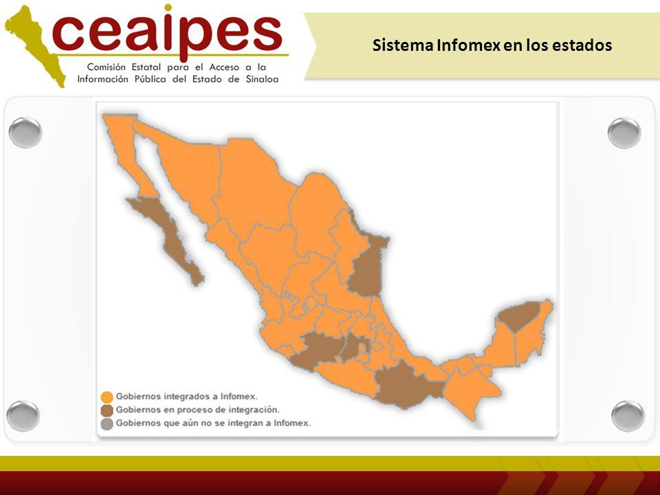 4 Infomex en los Estados