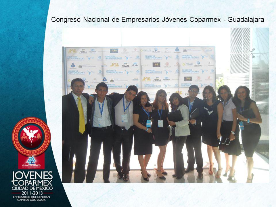Congreso Nacional de Empresarios Jóvenes Coparmex - Guadalajara