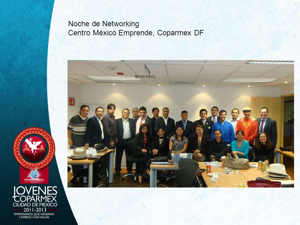 Noche de Networking Centro México Emprende, Coparmex DF