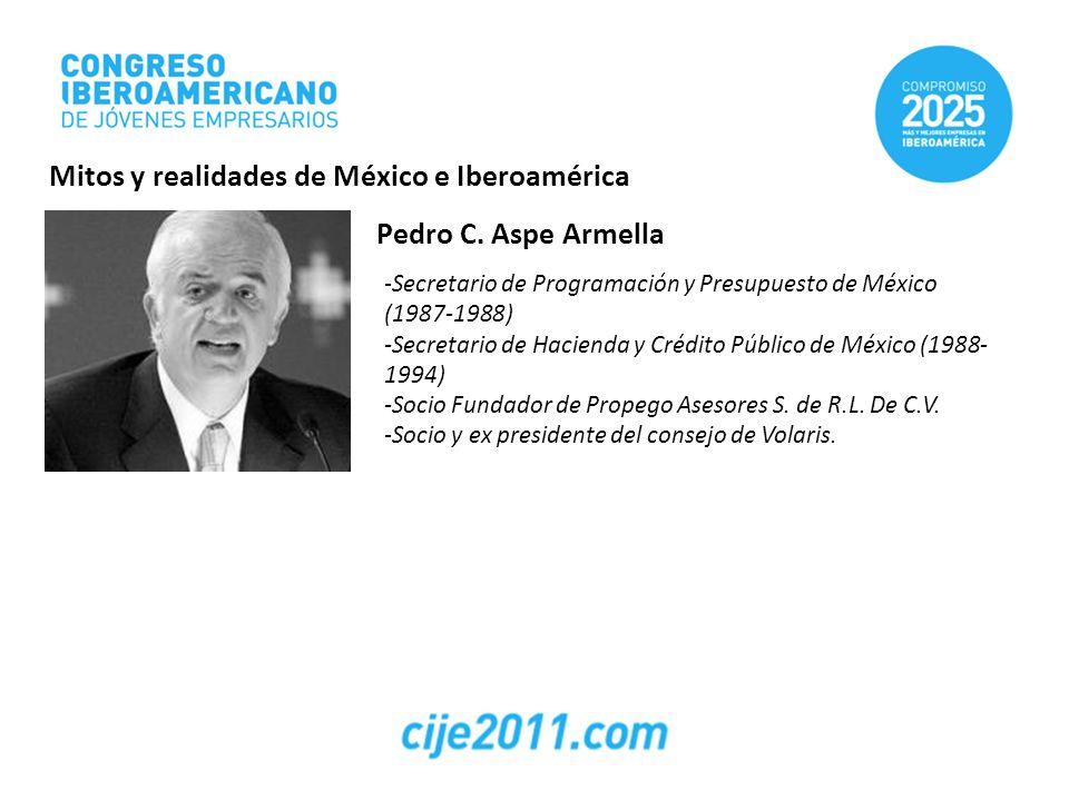 Pedro C. Aspe Armella -Secretario de Programación y Presupuesto de México (1987-1988) -Secretario de Hacienda y Crédito Público de México (1988- 1994)