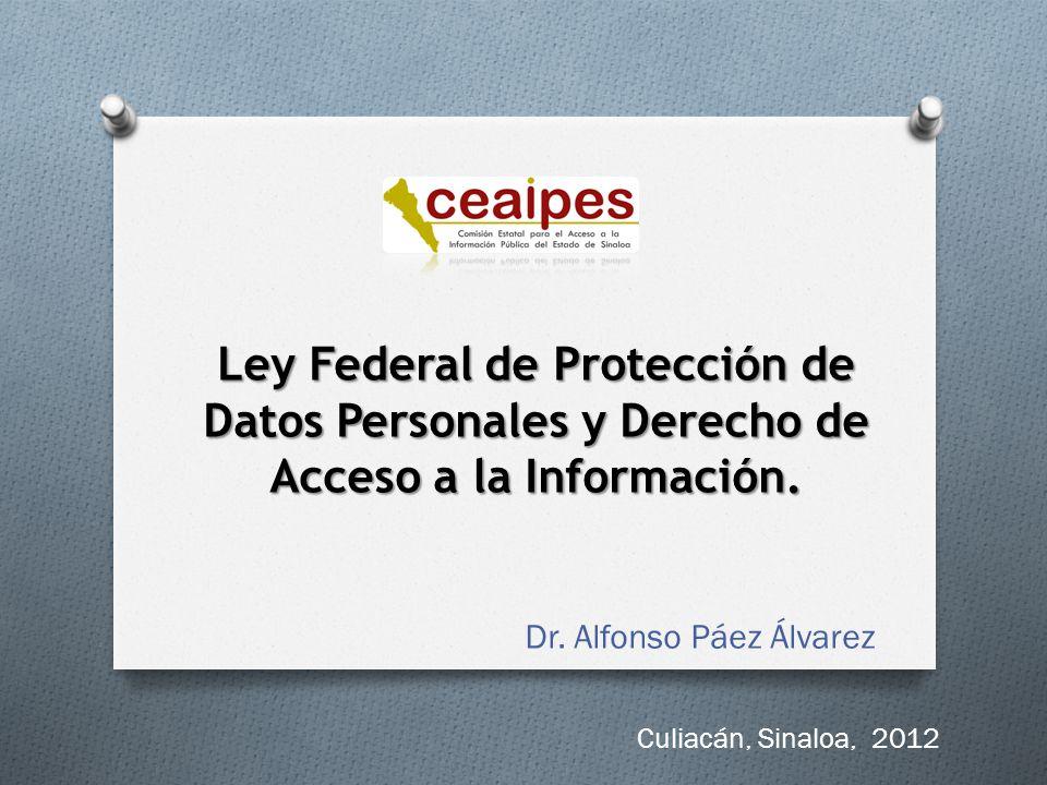 IFAI como autoridad garante Sus facultades en materia de verificación: O Vigilar y verificar el cumplimiento de la ley.