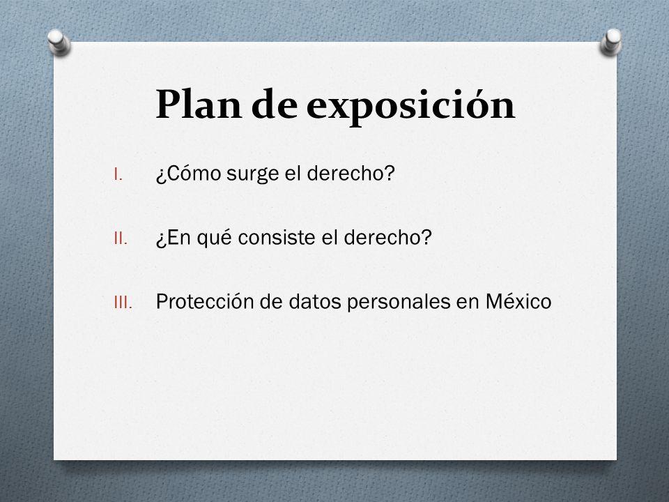 Plan de exposición I.¿Cómo surge el derecho. II. ¿En qué consiste el derecho.