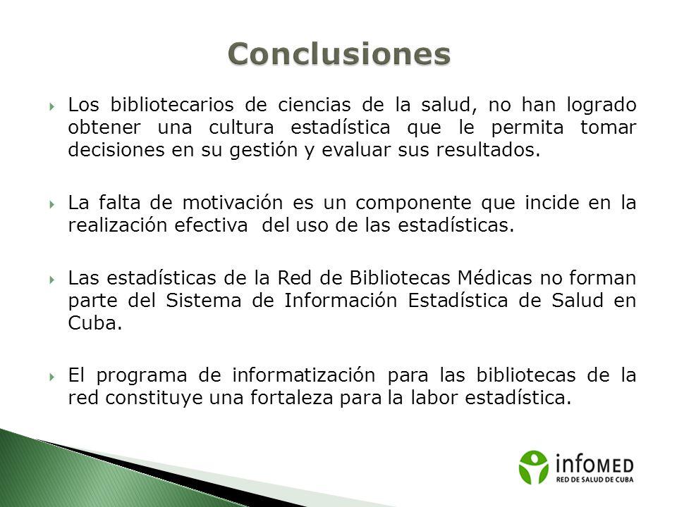 La titulación de especialistas en Sistemas de Información en Salud favorece la capacitación de los trabajadores de la información en el perfil de estadística.