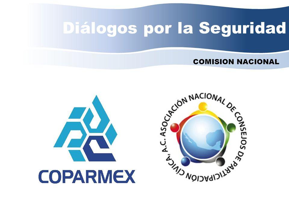 Diálogos por la Seguridad COMISION NACIONAL