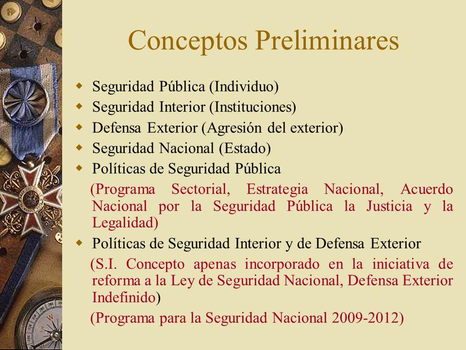 legislacion nacional para la: