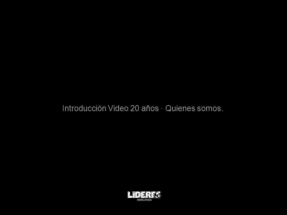 Introducción Video 20 años · Quienes somos.