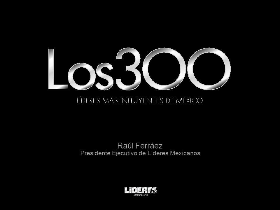 Raúl Ferráez Presidente Ejecutivo de Líderes Mexicanos
