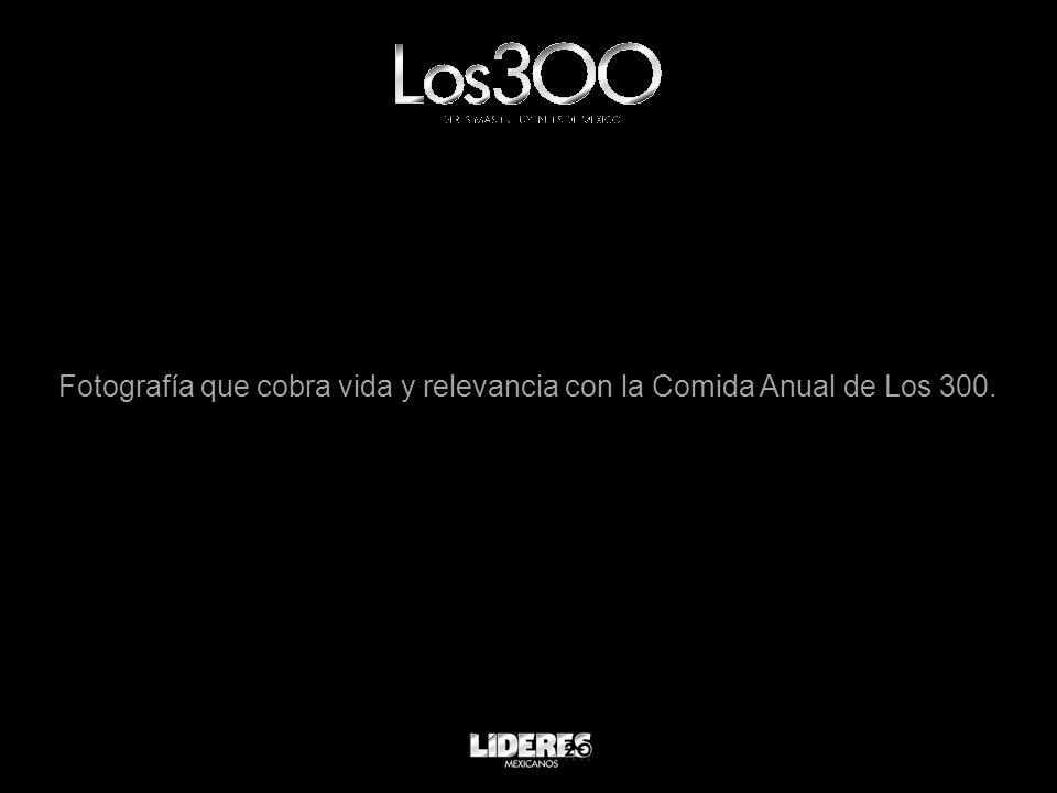Fotografía que cobra vida y relevancia con la Comida Anual de Los 300.