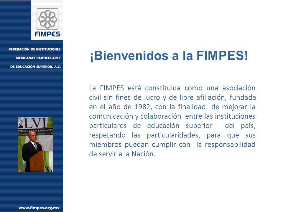 Total de Matrícula 2,724,000 Segundo Informe de Gobierno Felipe Calderón Hinojosa OBJETIV OS Matrícula FIMPES