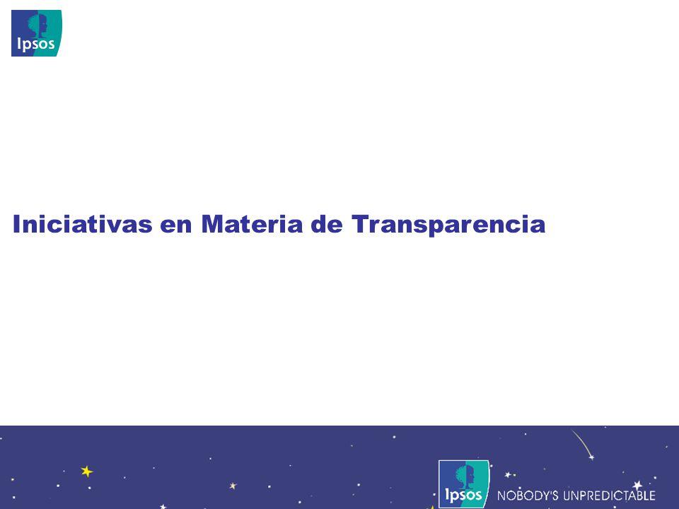 Nobodys Unpredictable 93 Iniciativas en Materia de Transparencia