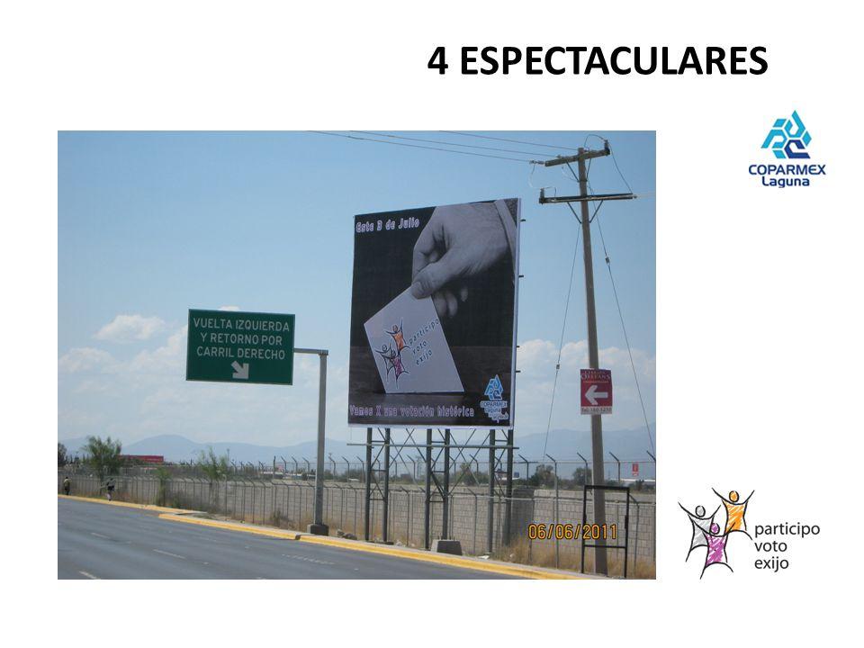 4 ESPECTACULARES