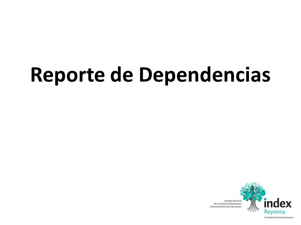 Reporte de Dependencias