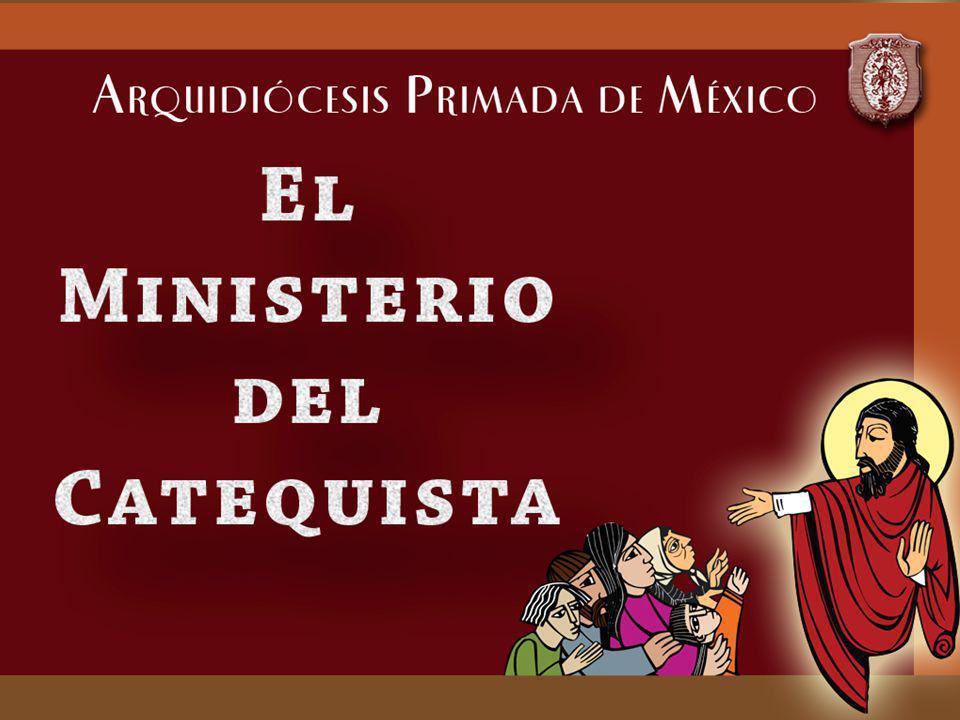 En el nombre del Señor Jesús, que nos ha encomendado la continuación de su misión en la tierra, y en nombre de la Iglesia, que guiada por el Espíritu quiere ser signo de salvación para todos los hombres, yo los instituyo Ministros Catequistas.
