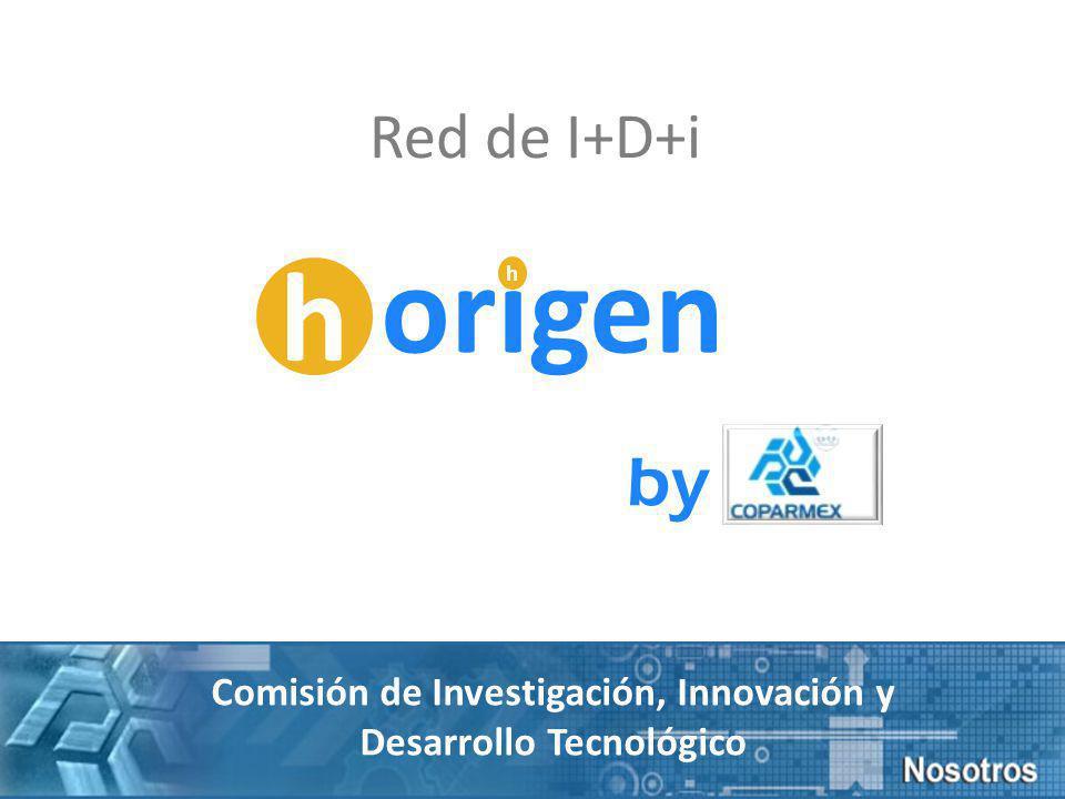 Red de I+D+i by Comisión de Investigación, Innovación y Desarrollo Tecnológico h origen h