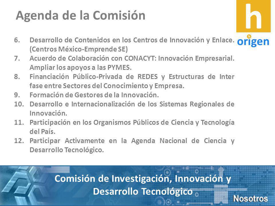 6.Desarrollo de Contenidos en los Centros de Innovación y Enlace.