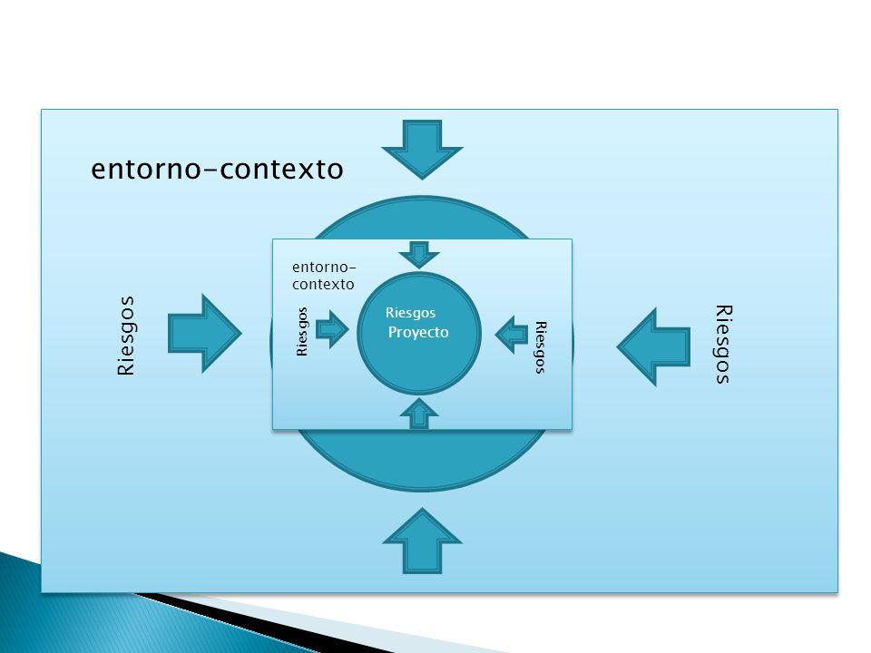Proyecto entorno-contexto Riesgos Proyecto entorno- contexto Riesgos
