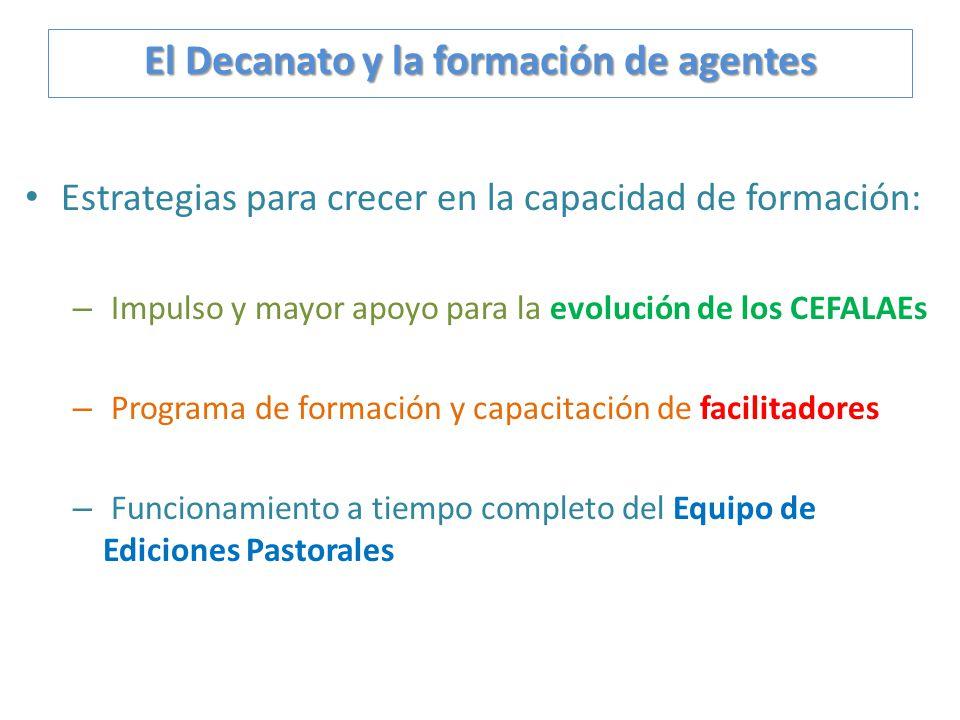 Estrategias para crecer en la capacidad de formación: – Impulso y mayor apoyo para la evolución de los CEFALAEs – Programa de formación y capacitación