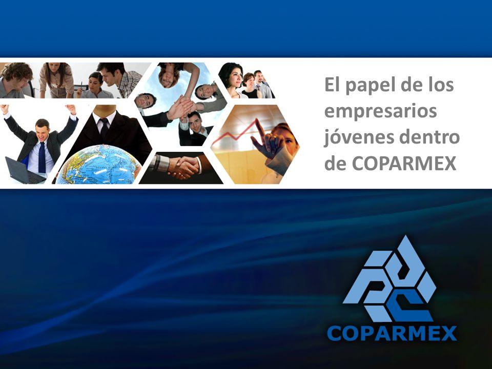 Comisión Nacional de Empresarios Jóvenes de COPARMEX La Comisión de Empresarios Jóvenes de COPARMEX es una de las Comisiones más participativas y representativas con las que cuenta la Confederación Patronal de la Republica Mexicana.