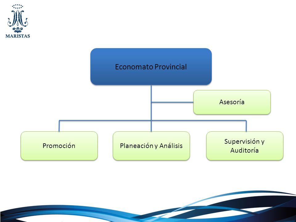 Economato Provincial Promoción Planeación y Análisis Supervisión y Auditoría Asesoría