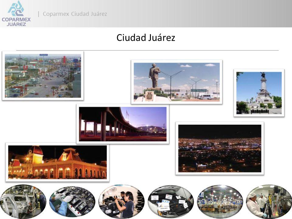 | Coparmex Ciudad Juárez Juárez Competitiva 13 al 28 de octubre Museo del Niño Proyecto Binacional Promocional Internacional